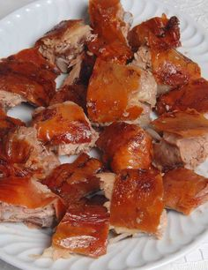 Pork Recipes, Wine Recipes, Gourmet Recipes, Cooking Recipes, Bacon Dishes, Tasty Dishes, Brazil Food, Portuguese Recipes, Portuguese Food