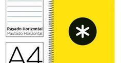 Loja do Escritório: Caderno Espiral A4 Antartik, disponível em 9 cores...