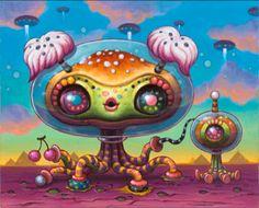 yoko d'holbachie art | The Art of D'Holbachie-Yoko | Art Nectar