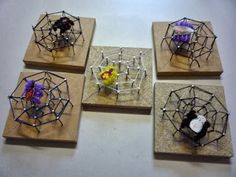 String Art, Terrarium, Crafts For Kids, Workshop, Ideas, School, Classroom Decor, Patterns, Dekoration