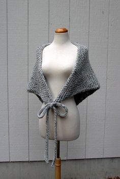 thats a wrap easy knitting pattern chunky knit shawl pattern cape poncho pdf knit pattern oversized triangle bandana scarf pattern Thats a wrap easy knitting pattern. Chunky Knit Scarves, Knitted Shawls, Crochet Shawl, Knit Crochet, Knitting Scarves, Chunky Knits, Chunky Knitting Patterns, Knit Patterns, Vogue Knitting