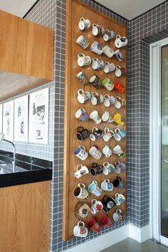 Kitchen Decor Apartment and Pics of Make Kitchen Decor Ideas. Kitchen Decor Apartment and Pics of Make Kitchen Decor Ideas. Home Decor Kitchen, Kitchen Furniture, Diy Furniture, Diy Home Decor, Zen Room Decor, Decorating Kitchen, Coffee Mug Display, Coffee Shop, Coffee Cups
