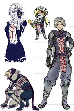 I like the Sheik redesign on the far right.