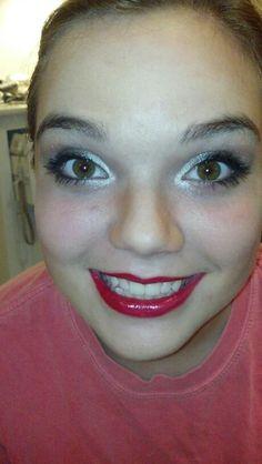 Marilyn manroe makeup!!