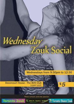 Wednesday Zouk Social | TorontoDance.com