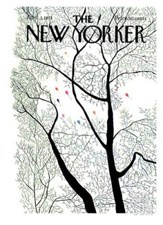 The New Yorker Cover - April 3, 1971 Giclee