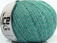 Fiber Content 35% Merino Wool 25% Alpaca 20% Viscose 20% Acrylic Mint Light Green Brand ICE Grey fnt2-40320