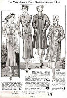 Worth's Spring  Summer 1937. #vintage #1930s #tennis #fashion #illustrations