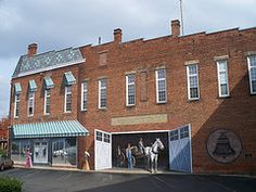 Mural at our local phone co in downtown Chillicothe, Ohio...