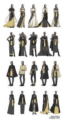 tian-yang: Ancient Egyptian-inspired fashion designs - Amelia Home