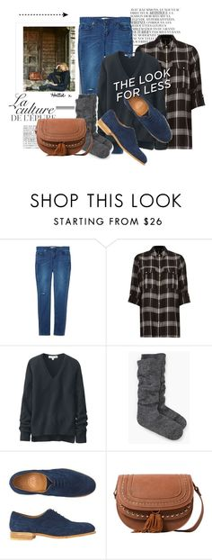 """Saturday - The Look For Less"" by hattie4palmerstone ❤ liked on Polyvore featuring By Zoé, River Island, Uniqlo, Kate Spade, Toast, MANGO, mango, katespade, RiverIsland and uniqlo"