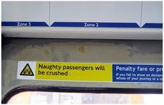 Funny: London Underground spoof stickers (19)