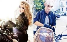 Too cool for School. Jack Frost and Elsa looking bada$$.
