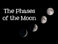 Phases of the Moon: Astronomy and Space for Kids - FreeSchool - YouTube