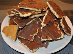 saltine toffee crackers DSC_3196 by lullabylubbock, via Flickr