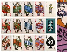 Playing Cards by El Al. Gorgeous!!!