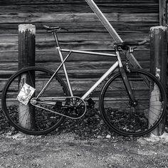 #Repost from @breakbrake17bikes - BB17 Transfer B&W #bb17 #bb17transfer #breakbrake17 #fixedgear #trackbike #cycling #biking #cyclist #bike #bicycle #steel #steelisreal #hizokucycles 15% off sale at HizokuCycles.com use promo code : INSTAGRAM :