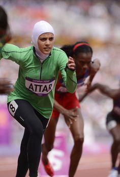 Sarah Attar, Saudi Arabia's First Female Olympic Runner