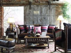 Old Hickory Hill Country Sofa