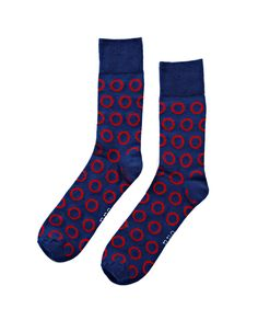 Blue Lord of the Socks. Spice up your sock drobe with the Odd Sock's socks.