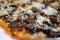 Pumpkin and Black Bean Pizza on Roasted Pumpkin Dough | Farm Fresh Feasts
