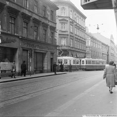 Neubaugasse... Tramway, Book Aesthetic, Long Time Ago, World War Ii, Street View, History, Vintage, Vienna, Architecture
