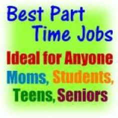 #best #parttime #jobs, ideal for #anyone; #moms, #students, #teens, #seniors, #ofw #employee
