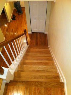 Triplejcontractors.com 410-908-2057 Ron Brown  new hardwood steps