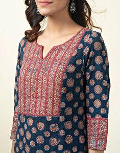 Simple Kurta Designs, Kurta Designs Women, Blouse Designs, Churidar Neck Designs, Kurta Neck Design, Designer Punjabi Suits, Indian Designer Wear, Kurta Patterns, Dress Indian Style