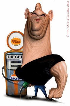 Ernesto Priego: Vin Diesel