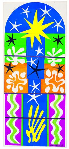 Henri Matisse (1869 -1964) Nuit de Noel 1952 Gouache on paper, cut and pasted and mounted on board MoMA © 2013. The Museum of Modern Art, New York / Scala Florence © Succession Henri Matisse/ DACS 2013