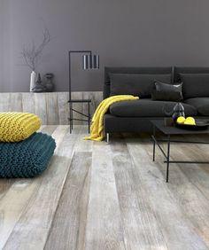 Cool effect van de vloer