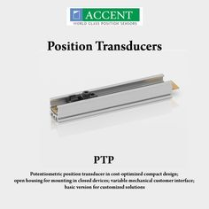 PTP  Potentiometric position transducer in cost-optimized compact design, open housing for mounting in closed devices, variable mechanical customer interface, basic version for customized solutions #AccentSensors #PositionTransducers #PTP #switches Visit - http://www.accentsensors.com/