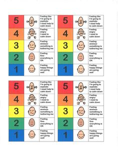 Five Point Behavior Scale...click on the link provided in the comments section.  Once at the website click on the 'emotions' picture it will then connect you to some great visuals for emotions
