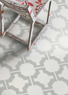Neisha Crosland Parquet Sage vinyl tiles from Harvey Maria Linoleum Flooring, Stone Flooring, Bathroom Flooring, Vinyl Flooring, Kitchen Flooring, Dark Flooring, Garage Flooring, Warm And Cool Colors, Vinyl Tiles