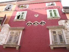 Pink house in Pula, Croatia: http://www.europealacarte.co.uk/blog/2009/04/28/the-istrian-city-of-pula-croatia-in-pictures/