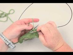 How to knit the Suspended Bind Off. Produces a more elastic edge than the Standard Bind Off.