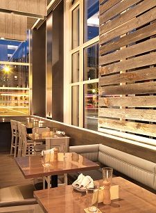 Island Creek Oyster Bar (Boston): A coastal town and working oyster farm provide the design inspirations for a happening seafood eatery