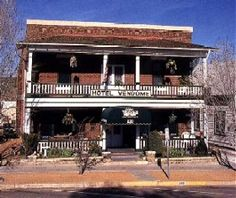 The Hotel Vendome in Prescott, Arizona is haunted by its former owner and her cat.