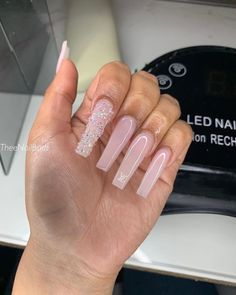 Bling Acrylic Nails, Drip Nails, Square Acrylic Nails, Aycrlic Nails, Best Acrylic Nails, Rhinestone Nails, Bling Nails, Cute Nails, Coffin Nails