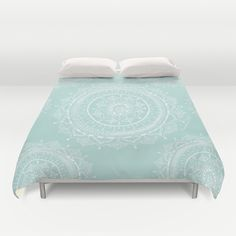 Buy ultra soft microfiber Duvet Covers featuring Mandala by Rambutan Designs. Hand sewn and meticulously crafted, these lightweight Duvet Cover vividly feature your favorite designs with a soft white reverse side.