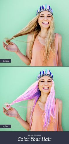 Are you dreaming of pastel hues for your hair? Grab a selfie and try it out with…