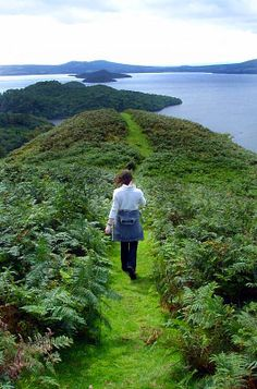 Loch Lomond scenic path, Scotland