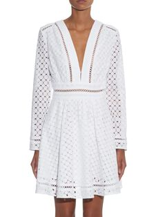 Ryker broderie-anglaise cotton dress | Zimmermann | MATCHESFASHION.COM UK | #MATCHESFASHION