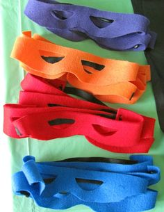 Imaginary play is great for learning. I think we will have to make these masks soon.