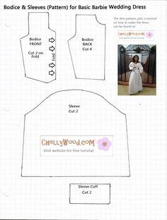 leeke bjd dolls clothes pattern - Szukaj w Google