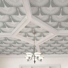 Should I wallpaper the ceiling?