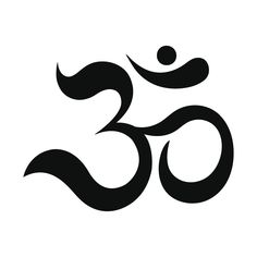 Om or Aum Indian sacred sound. The symbol of the divine triad of Brahma, Vishnu and Shiva. The sign of the ancient mantra. Namaste Symbol, Namaste Tattoo, Sacred Symbols, Celtic Symbols, Om Tattoo Design, Tattoo Designs, Oroboros Tattoo, Sister Symbols, Om Ganesh