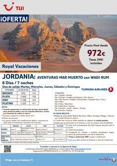 Jordania Aventuras Mar Muerto y Wadi Rum.8 días/7 noches.Octubre con TK.Precio final desde 972€ ultimo minuto - http://zocotours.com/jordania-aventuras-mar-muerto-y-wadi-rum-8-dias7-noches-octubre-con-tk-precio-final-desde-972e-ultimo-minuto-2/