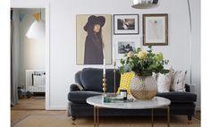 Utstickande kontraster – Hemma hos Filippa Lindén - Metro Mode Home
